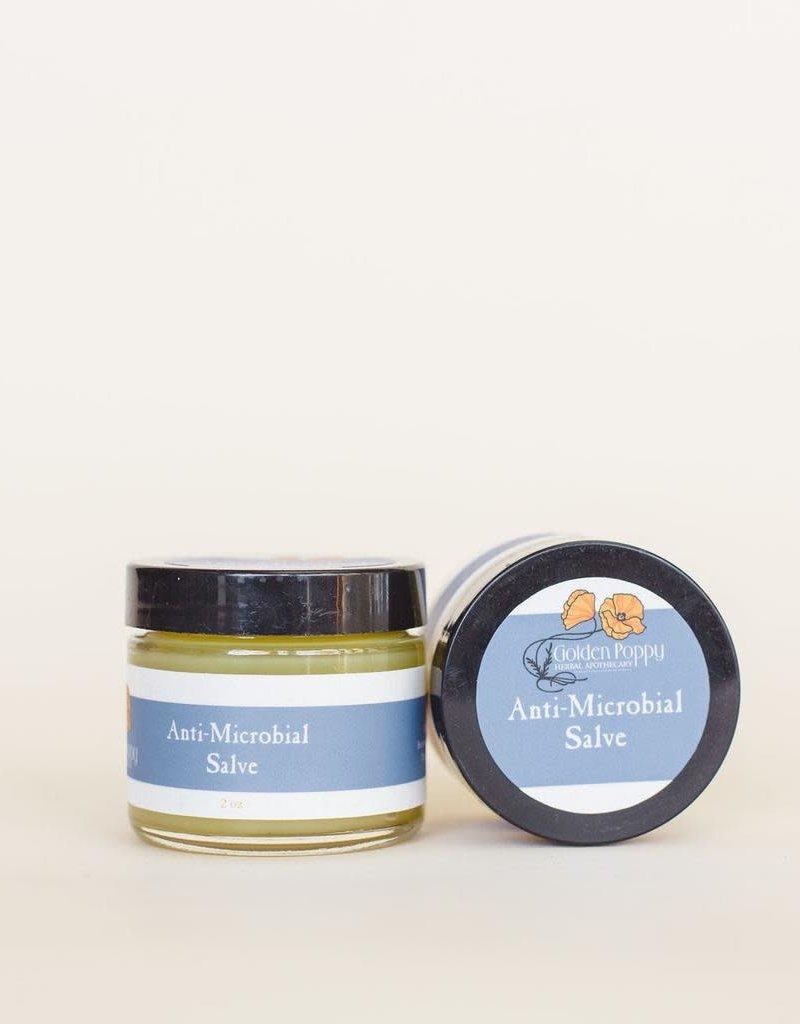 Golden Poppy Herbs Anti-Microbial Salve, 2 oz