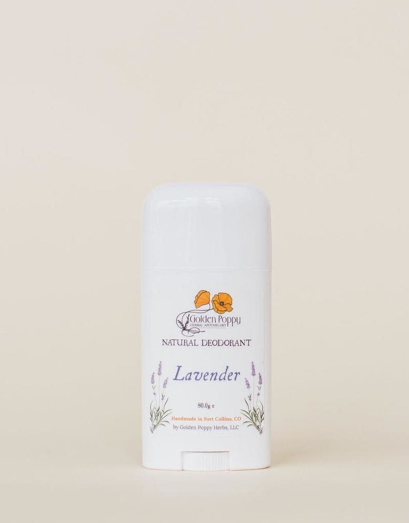 Golden Poppy Herbs Lavender Deodorant Large