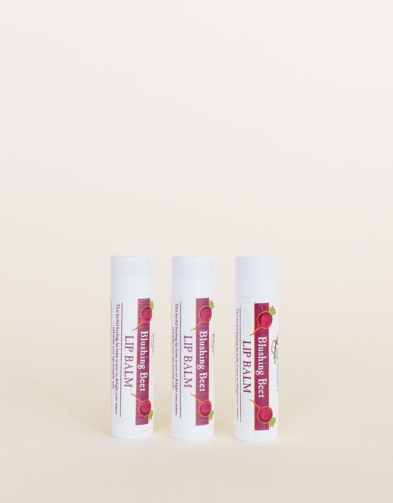 Golden Poppy Herbs Blushing Beet Lip Balm