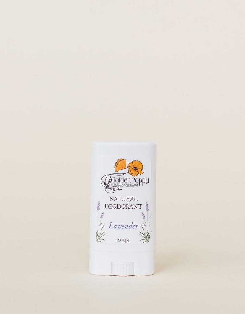 Golden Poppy Herbs Lavender Deodorant Small