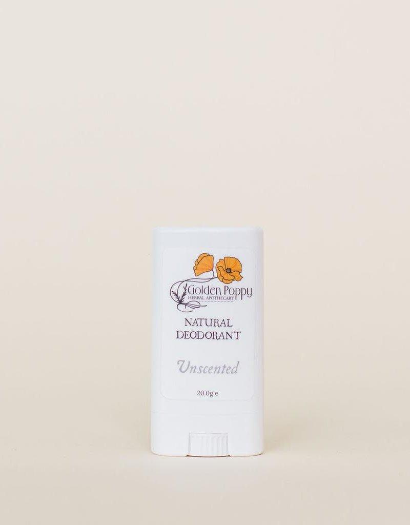 Golden Poppy Herbs Unscented Deodorant, Small DISCON