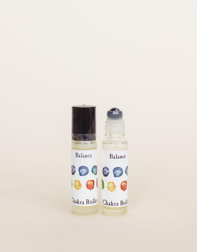 Golden Poppy Herbs Balance Chakra Perfume Roller