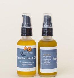 Golden Poppy Herbs Beautiful Breast Oil 2oz