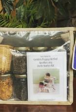 Golden Poppy Herbs Herb Starter Kit