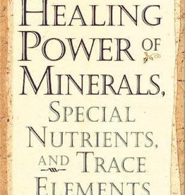 Golden Poppy Herbs Healing Power of Minerals & Trace Elements - Paul Bergner