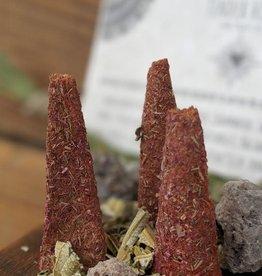 Golden Poppy Herbs Tender Heart Incense Cones - Aroma Love