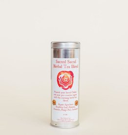Golden Poppy Herbs Sacred Sacral Chakra Tea Tin