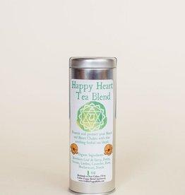Golden Poppy Herbs Happy Heart Chakra Tea Tin