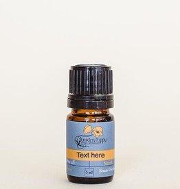 Golden Poppy Herbs Lemon Tea Tree Essential Oil, Organic, 5 mL