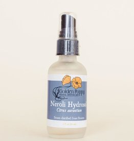 Golden Poppy Herbs Neroli Hydrosol Spray 2 oz