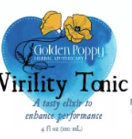 Golden Poppy Herbs Virility Tonic, 4oz