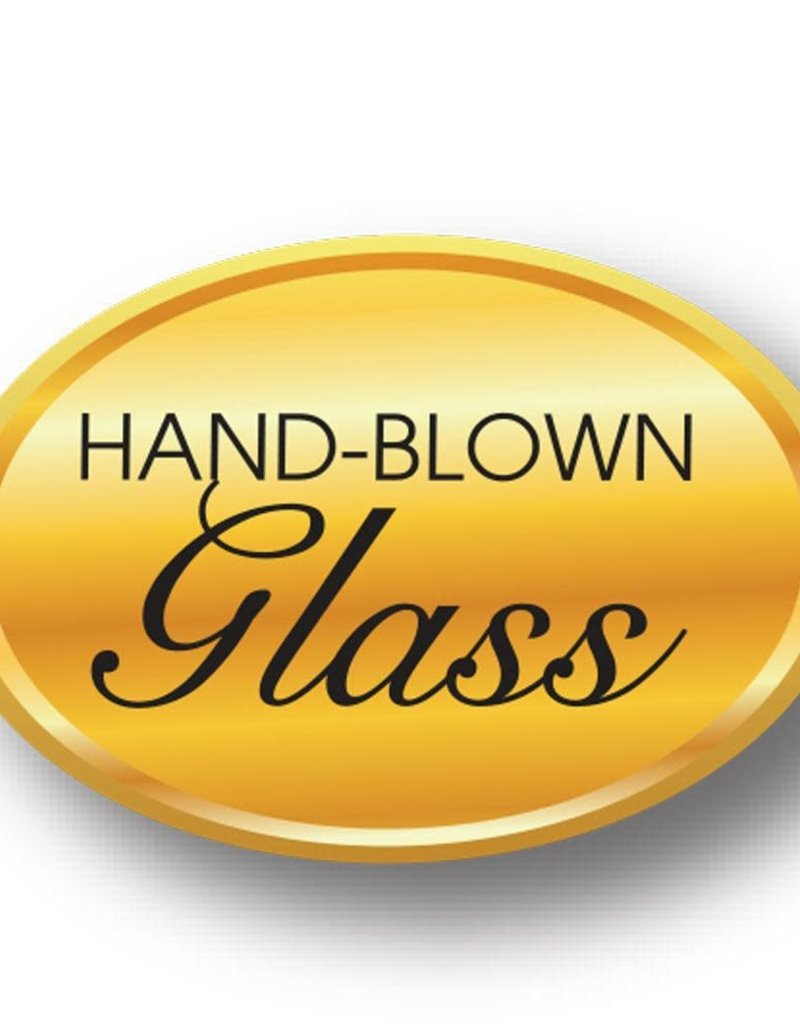 Golden Poppy Herbs Tulip Glass Diffuser