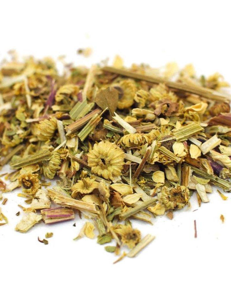 Golden Poppy Herbs Feverfew organic, bulk/oz