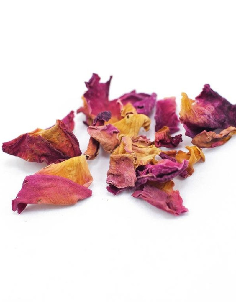 Golden Poppy Herbs Red Rose Petals, organic, bulk/oz