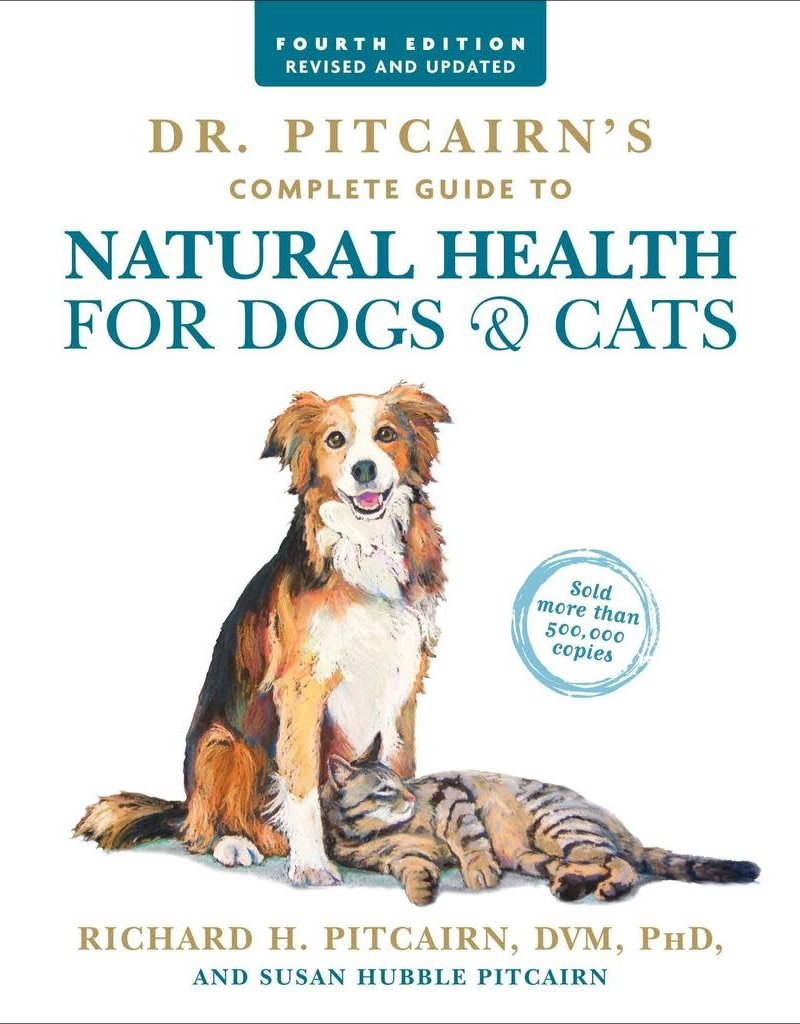 Golden Poppy Herbs Dr. Pitcairn's Comprehensive Guide to Natural Health for Dogs & Cats