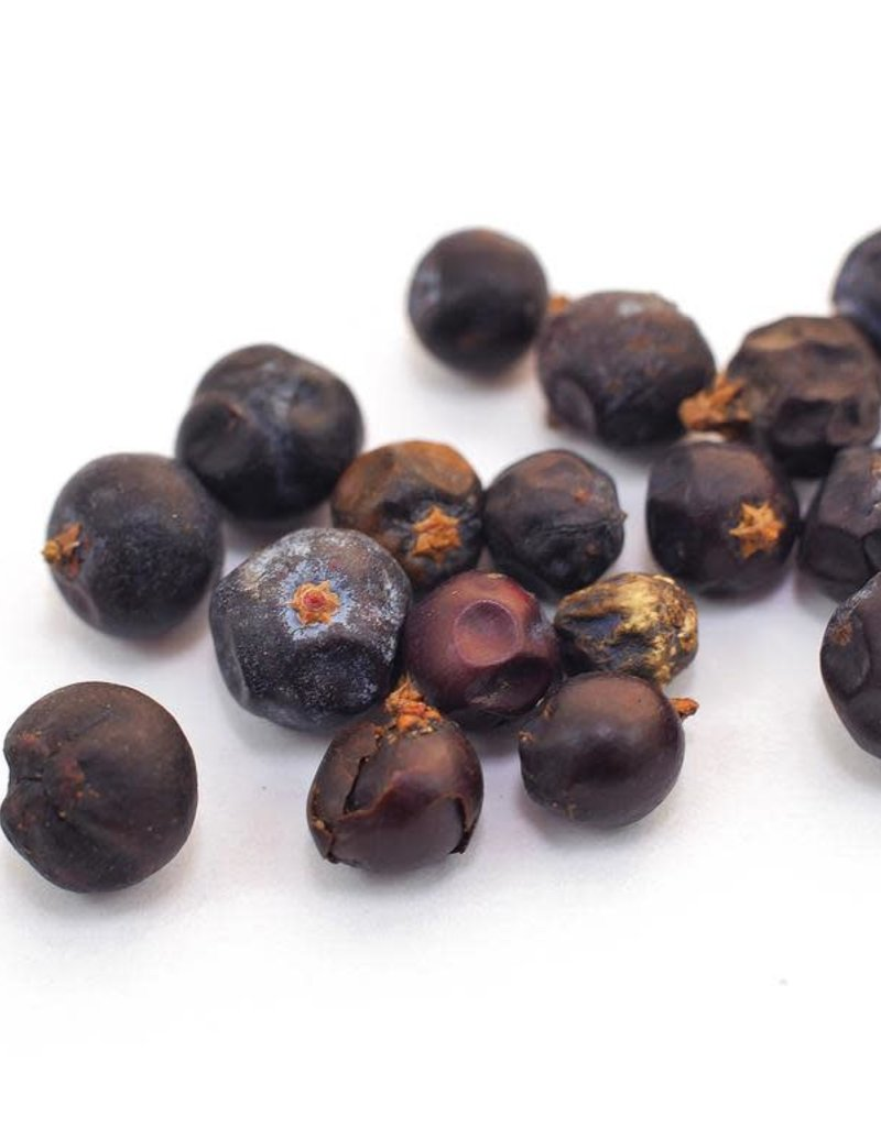 Golden Poppy Herbs Juniper BERRIES organic, bulk/oz