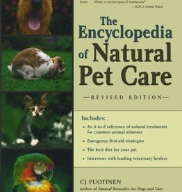 Golden Poppy Herbs Encyclopedia of Natural Pet Care - C.J. Puotinen