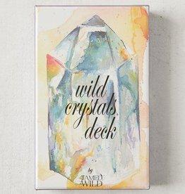 Golden Poppy Herbs Wild Crystals Healing Deck
