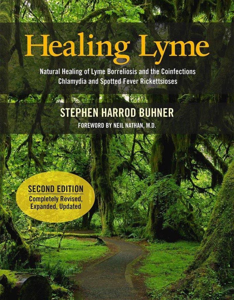 Golden Poppy Herbs Healing Lyme (Second Edition) - Stephen Buhner