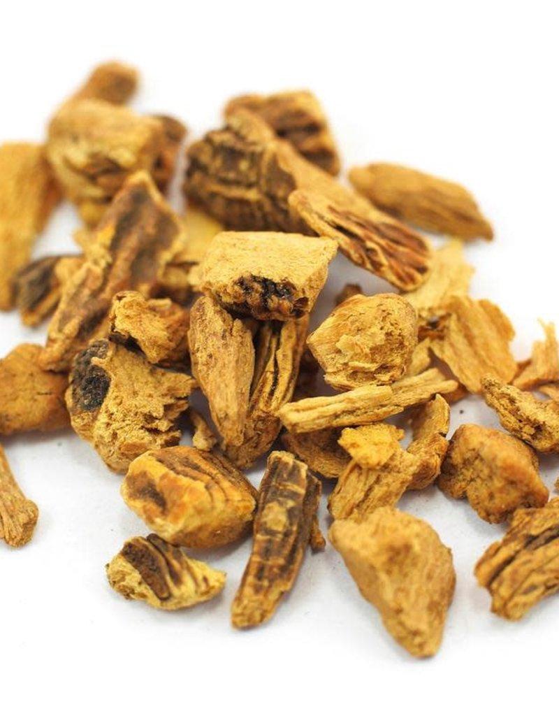 Golden Poppy Herbs Gentian Root, Organic, bulk/oz
