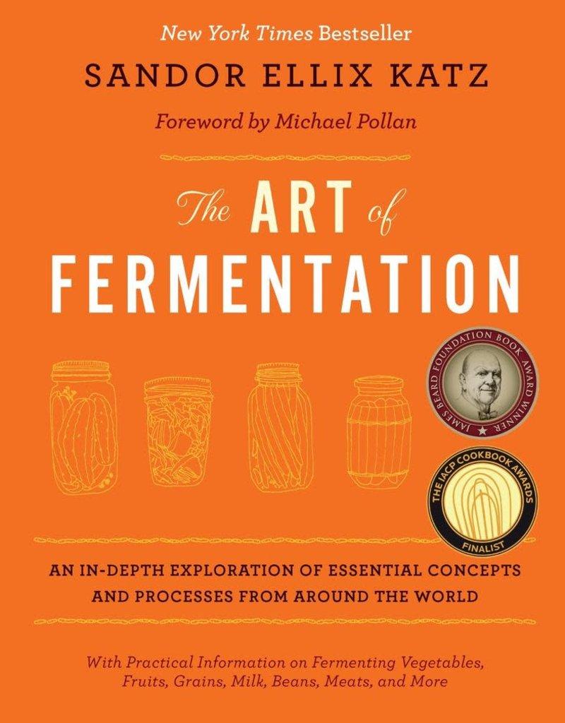 Golden Poppy Herbs The Art of Fermentation - Sandor Katz