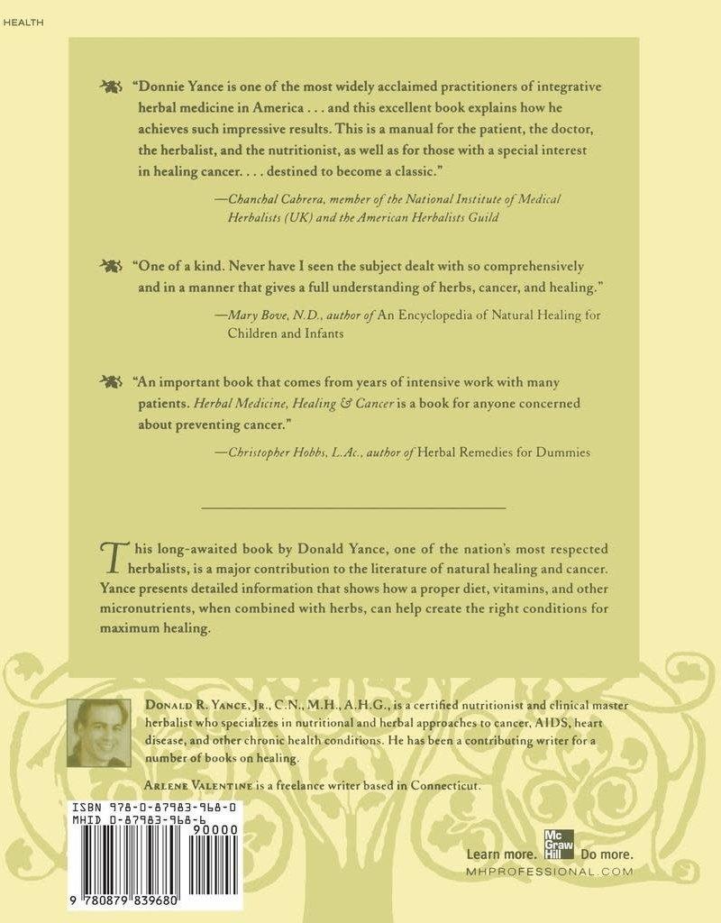 Golden Poppy Herbs Herbal Medicine Healing & Cancer - Donald Yance
