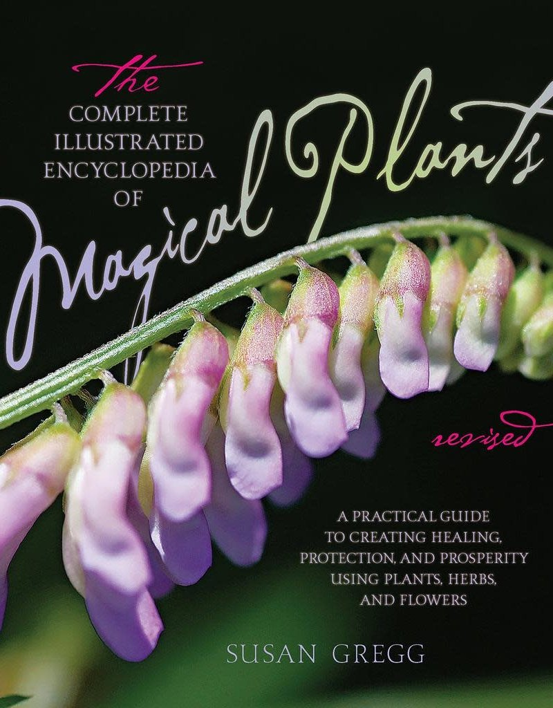 Golden Poppy Herbs Complete Illustrated Encyclopedia of Magical Plants - Susan Gregg