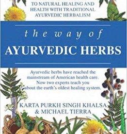 Golden Poppy Herbs Way of Ayurvedic Herbs - Karta Khalsa & Michael Tierra