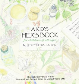 Golden Poppy Herbs Kid's Herb Book - Lesley Tierra