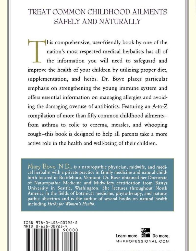 Golden Poppy Herbs Encyclopedia of Natural Healing for Children & Infants - Mary Bove