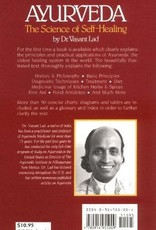 Golden Poppy Herbs Ayurveda the Science of Self Healing - Vasant Lad