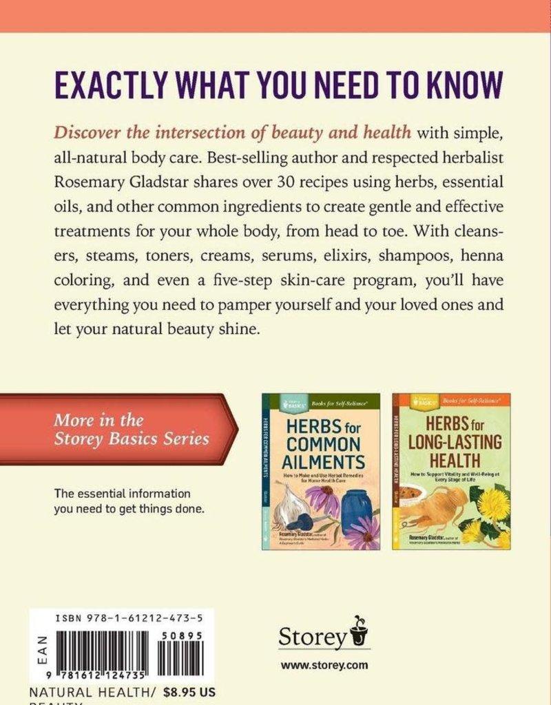 Golden Poppy Herbs Herbs for Natural Beauty- Rosemary Gladstar