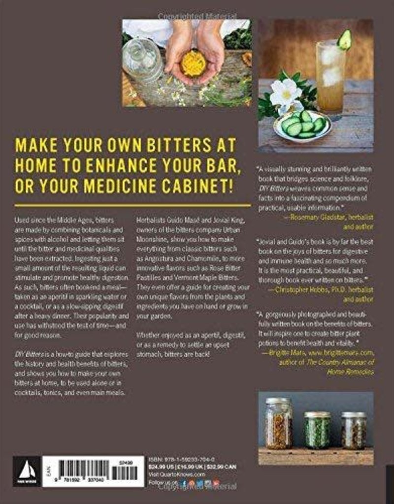 Golden Poppy Herbs DIY Bitters: Reviving the Forgotten Flavor - Guido Mase