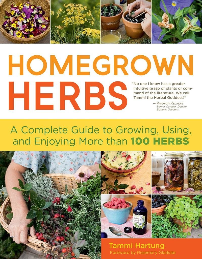 Golden Poppy Herbs Homegrown Herbs - Tammi Hartung