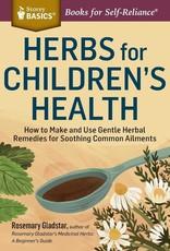 Golden Poppy Herbs Herbs for Children's Health - Rosemary Gladstar
