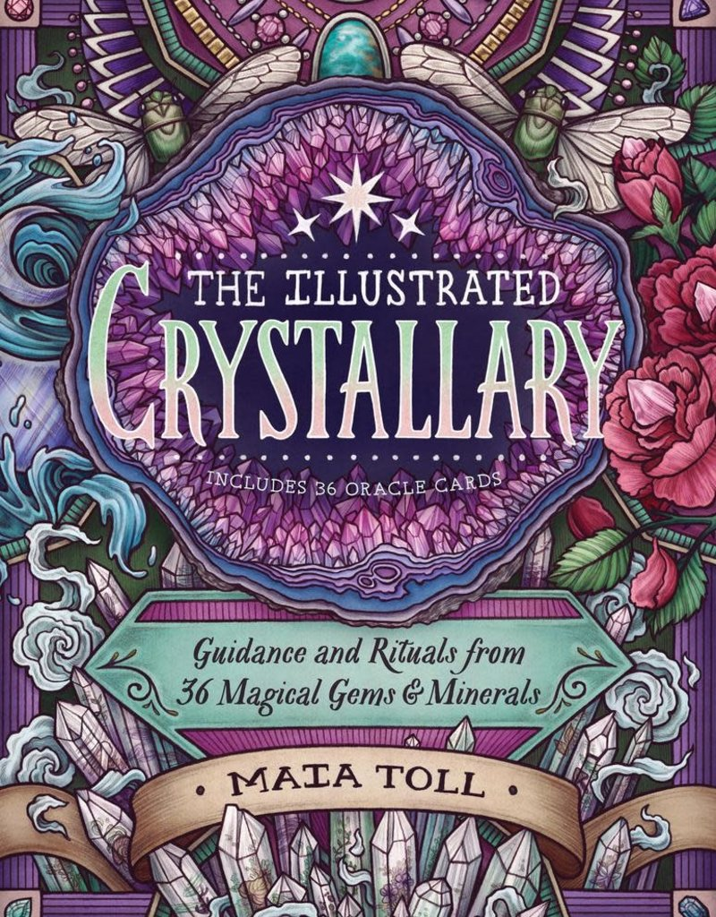 Golden Poppy Herbs The Illustrated Crystallary - Maia Toll