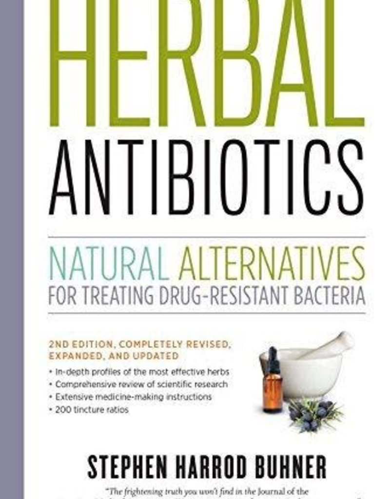 Golden Poppy Herbs Herbal Antibiotics - Stephen Buhner