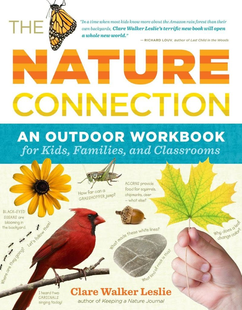 Golden Poppy Herbs The Nature Connection: An Outdoor Workbook for Kids, Families, and Classrooms - Clare Walker Leslie