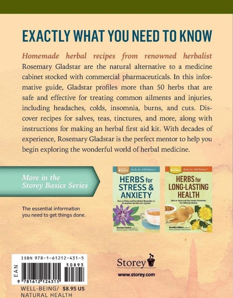 Golden Poppy Herbs Herbs for Common Ailments - Rosemary Gladstar