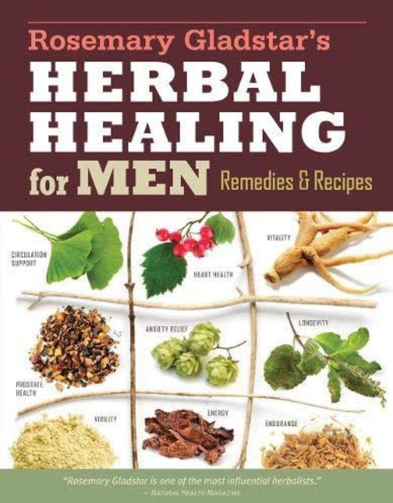 Golden Poppy Herbs Herbal Healing for Men - Rosemary Gladstar