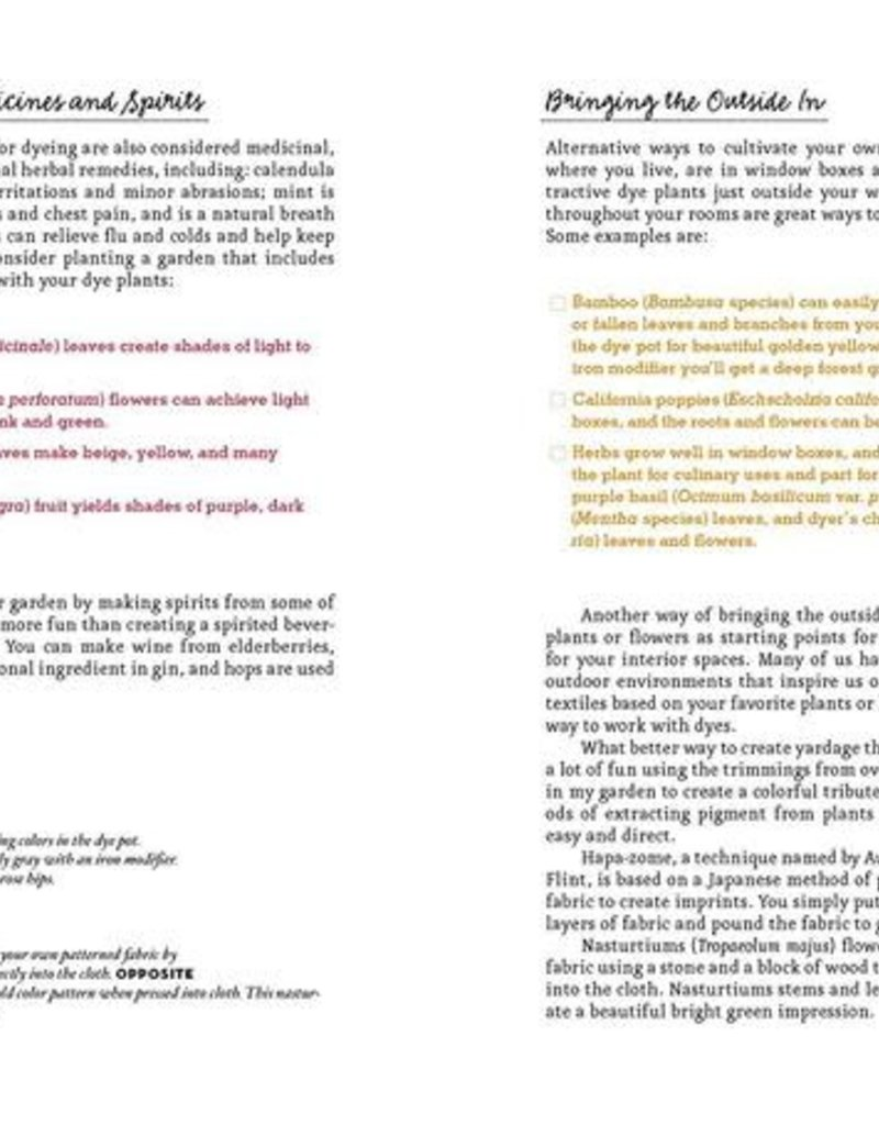 Golden Poppy Herbs The Handbook of Natural Plant Dyes - Sasha Duerr