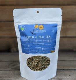 Golden Poppy Herbs Cold & Flu Tea Bag 4 oz