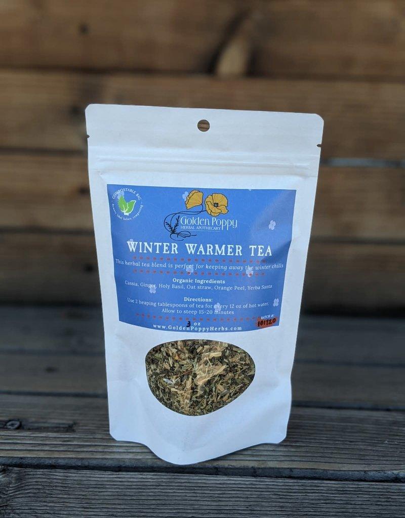 Golden Poppy Herbs Winter Warmer Tea 3 oz bag
