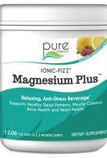 Golden Poppy Herbs Ionic Fizz Magnesium Plus, Large Raz-Lemonade - Pure Essence