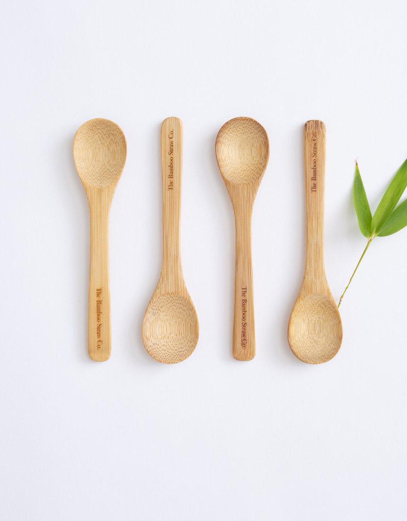 Single Bamboo Spoon, Bamboo Straw Co.