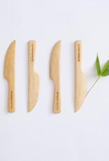 Single Bamboo Knife, Bamboo Straw Co.