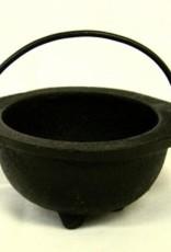 Golden Poppy Herbs Mini Cast Iron Cauldron