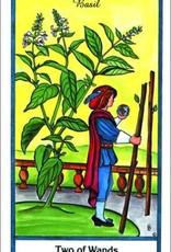Golden Poppy Herbs Herbal Tarot Deck - Michael Tierra