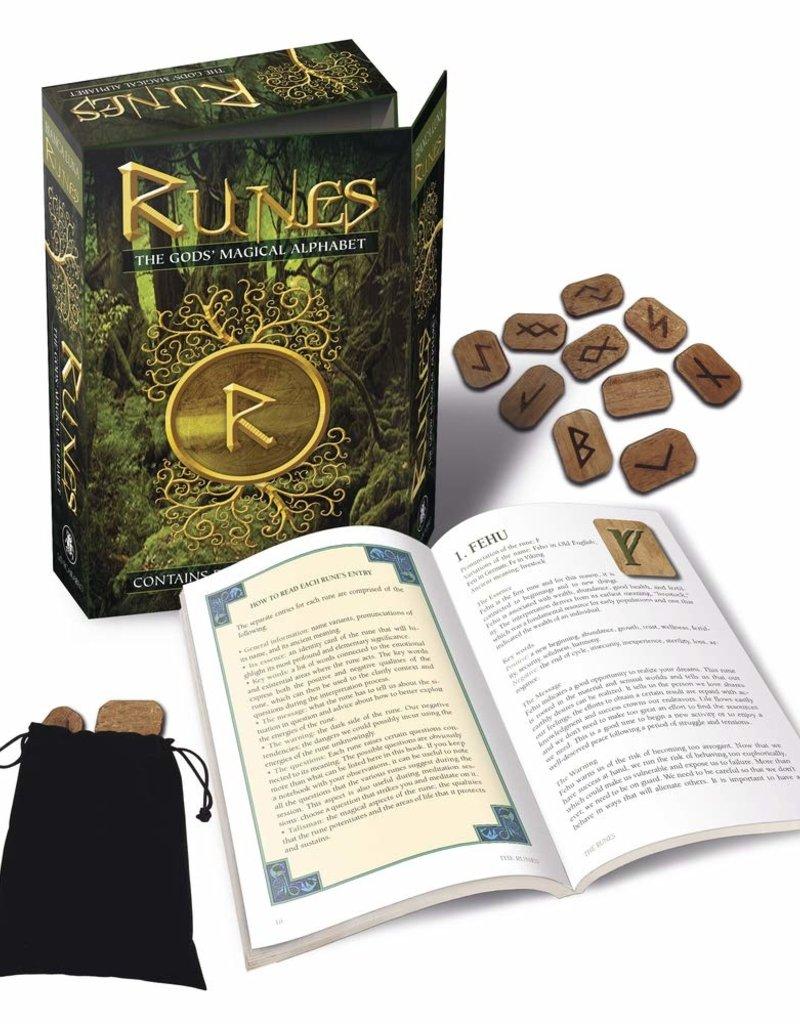 Golden Poppy Herbs Runes Kit: The Gods Magical Alphabet