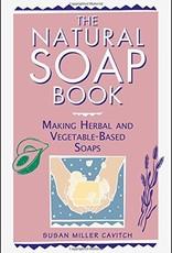 Golden Poppy Herbs Natural Soap Book - Susan Cavitch